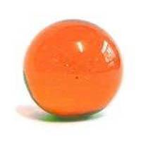 Billes-en-verre-Bille-transparente-verre-orange-499
