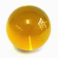 Billes-en-verre-Bille-verre-transparente-jaune-446