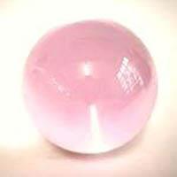 Billes-en-verre-Bille-verre-transparente-rose-451