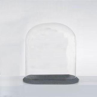 Globes ovales - Cloches ovales - Globe verre - Cloche verre