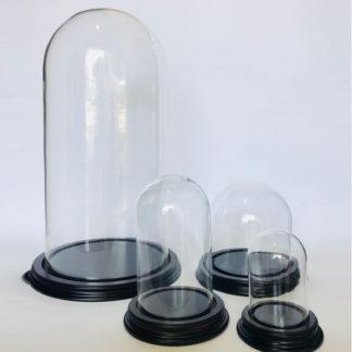 Globes ronds - Cloches rondes - Globe verre - Cloche verre