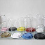 Globe rond - cloche ronde en verre